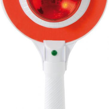 Polizei-Kelle mit Licht Für den Kindergartenverkehr - Kisus e.K. - Kinder, Spiel und Spaß - Spielzeug