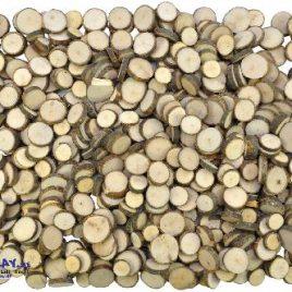 Naturholzscheiben 1 kg - Kisus - Kinder, Spiel und Spaß - Bastelbedarf