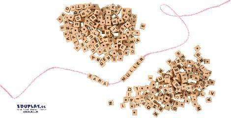 Buchstabenwürfel - Kisus e.K. - Kinder, Spiel und Spaß - Bastelbedarf