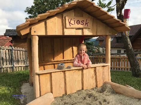 Spielhaus Kiosk - Kisus - Kinder, Spiel und Spaß