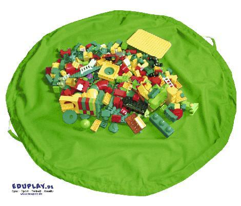 Aufräumsack/Spieldecke Grün - Kisus e.K. - Kinder, Spiel und Spaß - Aufräumen, Kindergartenausstattung