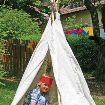 Tipi klein Wie im wilden WestenTipi klein Wie im wilden Westen - Kisus e.K. - Kinder, Spiel und Spaß - Kindergartenversand, Spielzeug