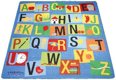 Teppich Buchstaben Das Alphabet lernen - Kisus e.K. - Kinder, Spiel und Spaß - großhandel schule