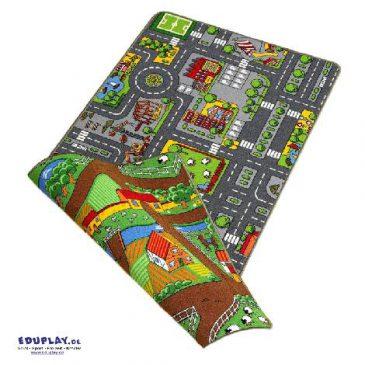 Duoplay Spielteppich 100 x 190 cm Für kleine und für große Spielzeugautos - Kisus e.K. - Kinder, Spiel und Spaß - Einrichtung Kindergärten