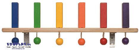 Wanddomino 6 Steine Fördert Feinmotorik, Ausdauer und Konzentration - Kisus e.K. - Kinder, Spiel und Spaß - Krippenausstattung