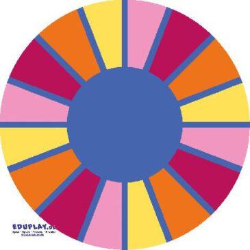 Teppich Segment Rund 200 cm Sitzkreis, Spielecke, Schlafraum - Kisus e.K. - Kinder, Spiel und Spaß - kita einrichtung