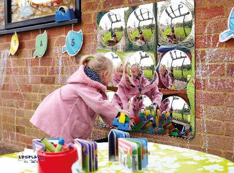 Spiegel Convex 9 groß - Kisus e.K. - Kinder, Spiel und Spaß - schule, kita, kindergarten
