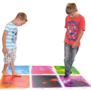 Faszinationsmatten Set 6 Stück Übers Wasser gehen - Kisus e.K. - Kinder, Spiel und Spaß - kindergartenversand, krippenausstattung ´, kindergartenbedarf, schulbedarf