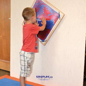 Dreheinrichtung für 110310 Faszinationsplatten Praktische Wandbefestigung - Kisus e.K. - Kinder, Spiel und Spaß