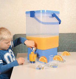Getränkespender 27 Liter Kinderleichte Bedienung - Kisus e.K. - Kinder, SPiel und Spaß - kindergartenbedarf, altenheimbedarf, schulbedarf