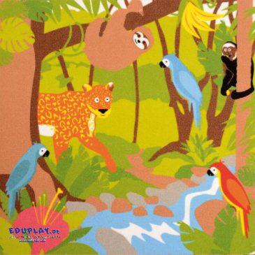Chamäleon Teppich Der Dschungel für Drinnen - Dschungel-Teppich - Kisus e.K. - Kinder, SPiel und Spaß - Kindergartenausstattung