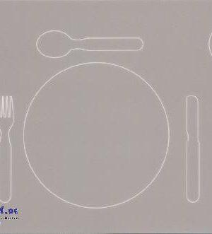 Platzset Mittagessen Krippe Rechtshänder Tischdecken will gelernt sein - Kisus e.K. - Kinder, Spiel und Spaß - krippenausstattung