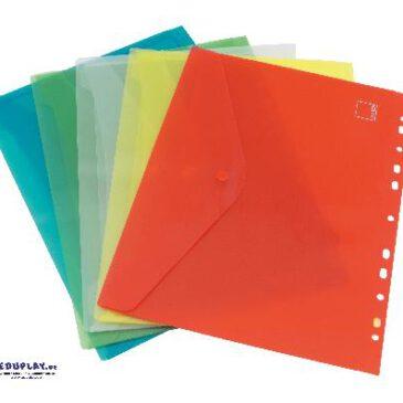 Dokumentenmappe A4 5-tlg. Dokumente knitterfrei transportieren - Kisus e.K. - Kinder, Spiel und Spaß - bürobedarf