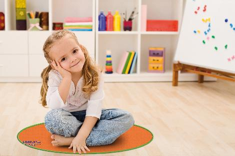 Positionierungsmatten 50 cm 6er Set Für Gruppenraum, Gymnasik, Sitzkreis - Kisus e.K. - Kinder, Spiel und Spaß