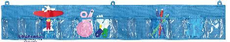 Wandorganizer 12 Taschen blue klein Übersichtlich und griffbereit aufbewahren - Kisus e.K. - Kinder, Spiel und Spaß