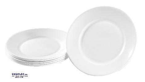 Teller Hartglas klein 6 Stück Robustes Geschirr für den Kiga-Alltag - Kisus e.K. - Kinder, Spiel und Spaß - kindergartenversand