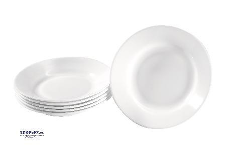 Teller Hartglas tief 6 Stück Robustes Geschirr für den Kiga-Alltag - Kisus e.K. - Kinder, Spiel und Spaß