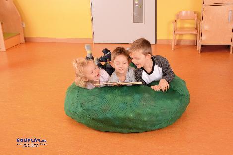 Sensorik-Sack Mobiles Bällebad & Lümmelinsel in einem - Kisus e.K. - Kinder, Spiel und Spaß