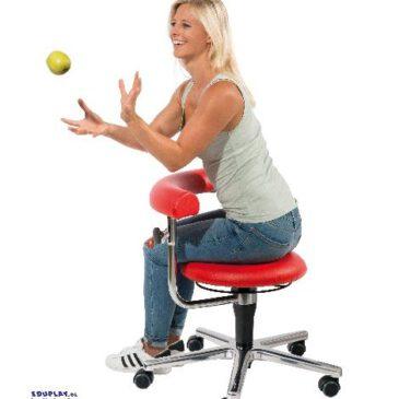 Erzieher/in Stuhl rot 41-54 cm Ergonomisch auf einer Höhe mit den Kindern sitzen - Kisus e.K. - Kinder, Spiel und Spaß . kindergartenbedarf, krippenbedarf, kindergartenversand