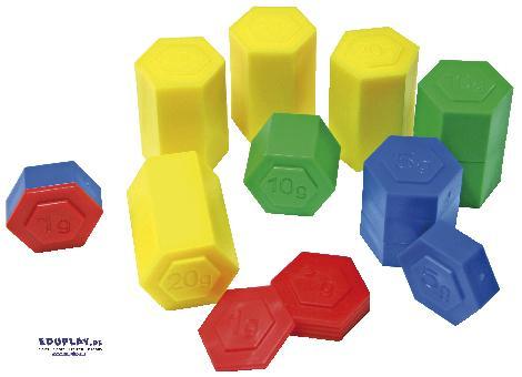 Gewichte Ergänzung zu unserer Balkenwaage - Kisus e.K. - Kinder, Spiel und Spaß