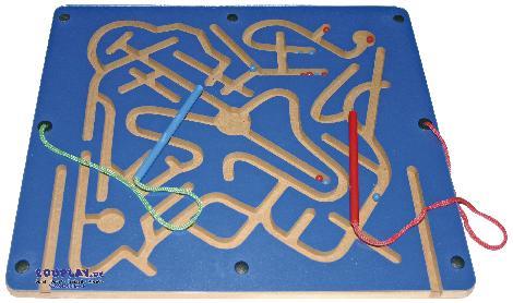 Magnetspiel für Zwei Einzeln oder als Schlange