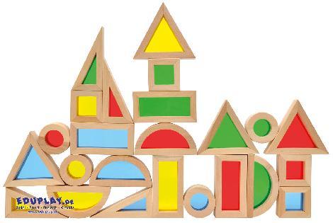 Regenbogenblocks Spiegelnd oder transluzent - Kisus e.K. - Kinder, Spiel und Spaß - edukative Spielwaren, sinneswahrnehmung, therapie