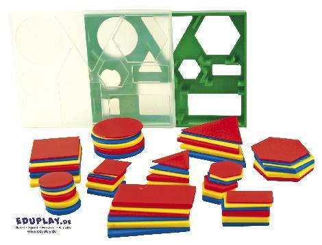 Geo Set 60 Basiswissen geometrische Formen - Kisus e.K. - Kinder, Spiel und Spaß