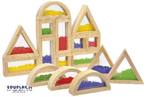 Blocks mit Perlen Viel spannender als normale Bausteine - Kisus e.K. - Kinder, Spiel und Spaß