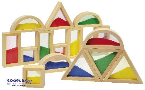 Blocks mit Sand Viel spannender als normale Bausteine