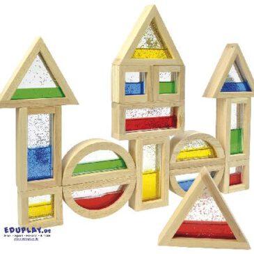 Blocks mit Glitter Viel spannender als normale Bausteine