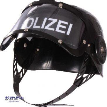 Polizeihelm Supercool für Rollenspiele ... Robuster Spielzeug-Helm mit beweglichem Visier - Kisus e.K. - Kinder, Spiel und Spaß - Kindergarten, Spielzeug