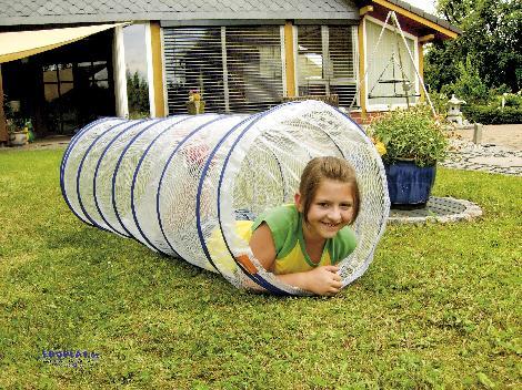 Kriechtunnel transparent 155 Angstfrei ... krabbeln Kinder - Kisus e.K. - Kinder, Spiel und Spaß - großhandel kindergärten