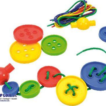 Fädelknöpfe in Box Zum Fädeln ... Sortieren und Spielen - Kisus e.K. - Kinder, Spiel und Spaß - kreativspielzeug, kindergartenbedarf