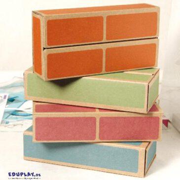 Kartonbausteine 20er Set Kinderleichte und robuste Großbausteine ... Die Bausteine in pastellfarbener Backsteinoptik sind aus extra stabilem Karton herstellt - Kisus e.K. - Kinder, Spiel und Spaß