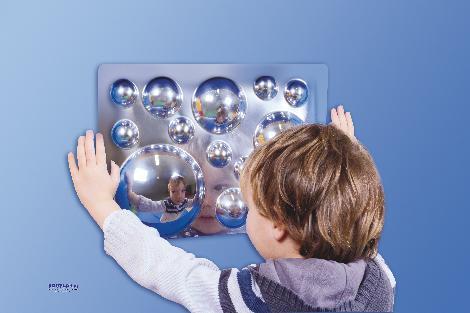Acrylspiegel 4er Set Lustig verzerrt ... schaut man in diesen Spiegeln aus. - Kisus e.K. - Kinder, Spiel und Spaß