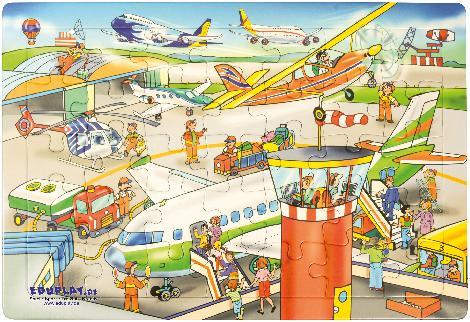 Puzzle Flughafen
