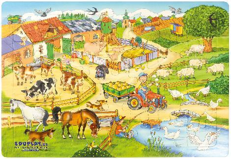 Puzzle Bauernhof - Kisus e.K. - Kinder, Spiel und Spaß - kindergarten, kita