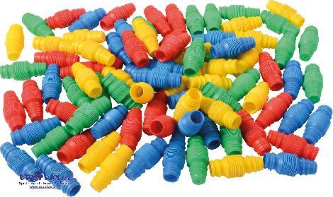 Flexröhrenset 80 Teile Visuelle, haptische und akustische Reize ... fördern die Kreativität und Experimentierfreude mit diesen flexiblen Röhren. - Kisus e.K. - Kinder, Spiel und Spa