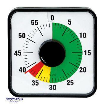 Zeitdauer-Uhr Automatik magnetisch mit Ampelscheibe Die Zeit im Blick ... Diese Uhr mit rückseitigem Magnet ist Zeitdauer-Uhr und Zeitdauer-Ampel in einem.
