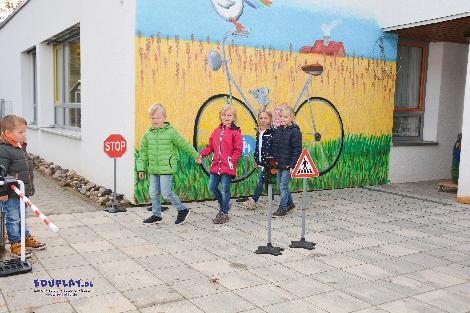 Verkehrsschilder 8-tlg. Verkehrsregeln lernen und üben - Kisus e.K. - Kinder, Spiel und Spaß - kindergarten, kita, vorschule, verkehrserziehung