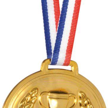 Medaille zum Beschriften Jeder kann ein Sieger sein - Kisus e.K. - Kinder, Spiel und Spaß