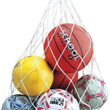 Ballnetz Für Ordnung und zum Transport ... von Bällen ist dieses Netz ideal.