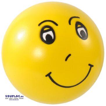 Emotionsbälle Set Lachen, weinen, grimmig sein ... Nicht immer herrscht Friede, Freude, Eierkuchen unter den Kindern. Um Verständnis füreinander zu entwickeln sich in andere Kinder hineinzufühlen können Kinder in der Runde anhand der Emotionsbälle die Gesichtsausdrücke nachahmen.