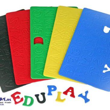 Moosgummi, Buchstaben Für Glückwunschkarten und Geschenke - Kisus e.K. - Kinder, Spiel und Spaß - kindergarten bastelbedarf