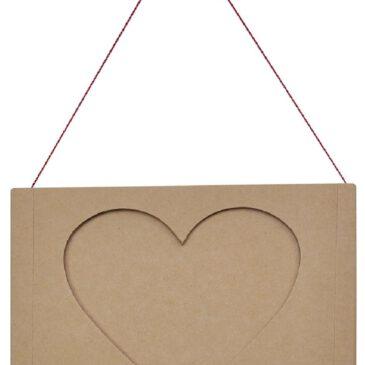 Bilderrahmen Set Herz 3-tlg. Ich hab dich lieb ... die drei Bilderrahmen zum Aufhängen und der Bilderrahmen-Leporello mit Platz für drei Fotos bringen das voll und ganz zum Ausdruck.