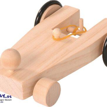 Auto mit Gummiantrieb