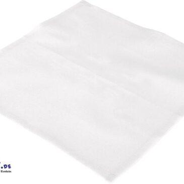 BW-Taschentücher 4er Set Besticken, bemalen, bedrucken ... Von den Kindern gestaltet werden die quadratischen Stofftücher zu individuellen Geschenken. Als jahreszeitlich gestaltete Stoffservietten verschönern sie das Tischgedeck. Material: Baumwolle