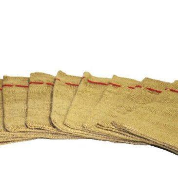 Nikolaus-Sack 10er Set Zehn Säckchen haben genau die richtige Größe für kleine Geschenke ... Das Jute-Material läßt sich zur Deko mit vielen Materialien verschönern
