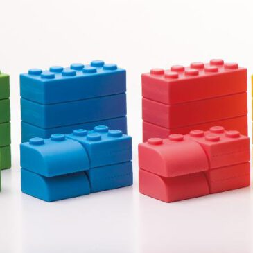 Q-Blocks 32-tlg. Q-Blocks bestehen aus einem hochqualitativen, speziellen Softmaterial ... Die leichtgewichtigen Bausteine bieten sicheres und geräuscharmes Spielen.