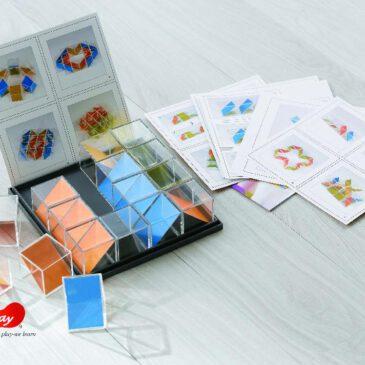 Crystal Block 16-tlg. Transparente Objekte bauen